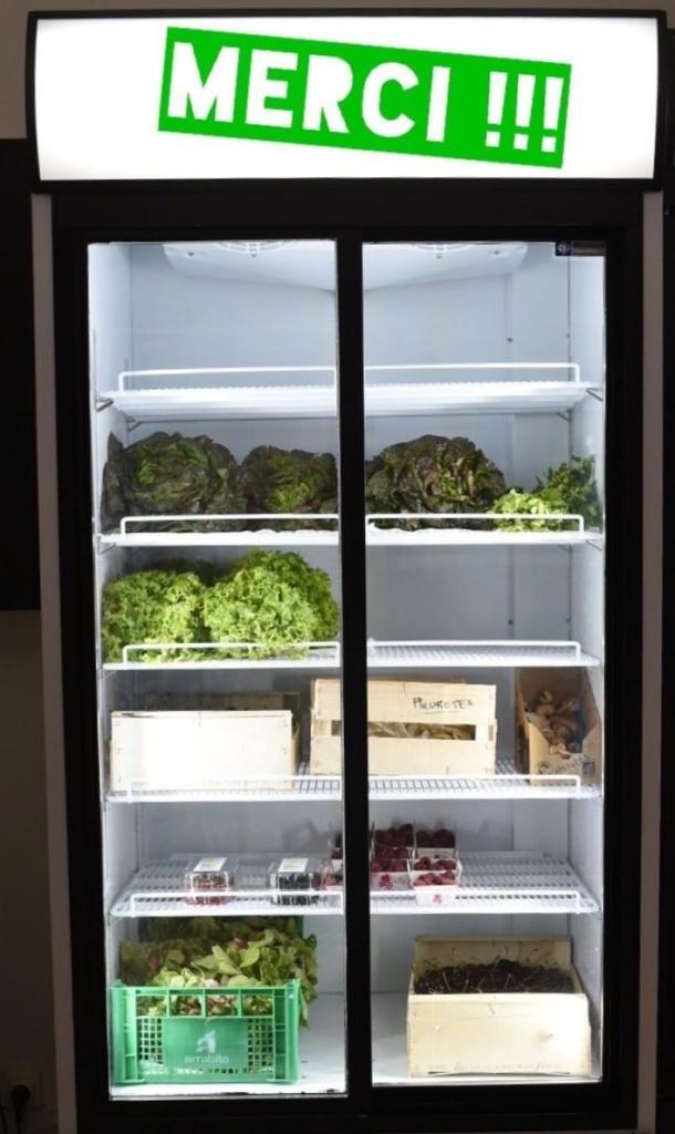 Un nouveau réfrigérateur à la French Coop