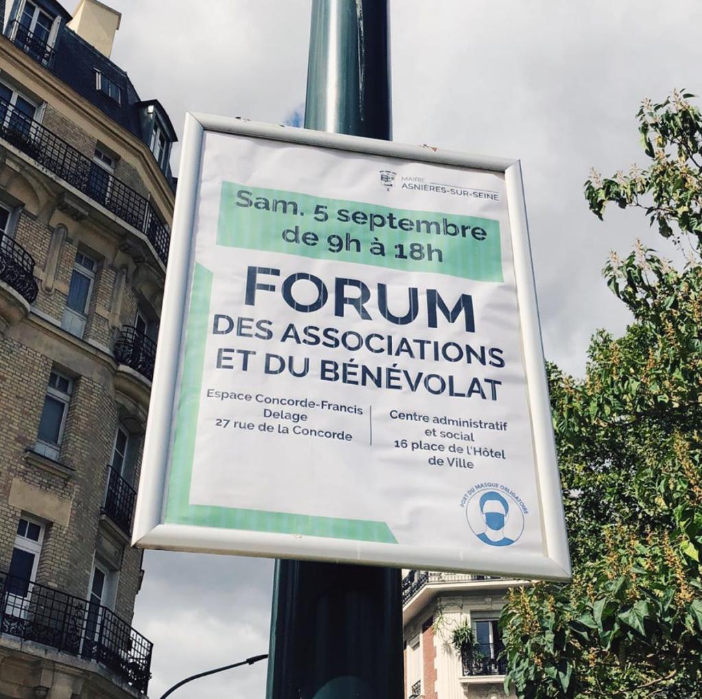 Forum des associations 2020 Asnières-sur-Seine