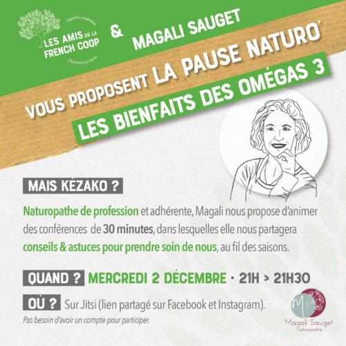 La pause naturo' #02 : les Oméga-3