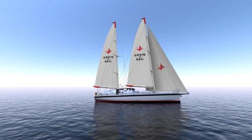 La parole est donnée au producteur Grain de Sail. Le voilier cargo.