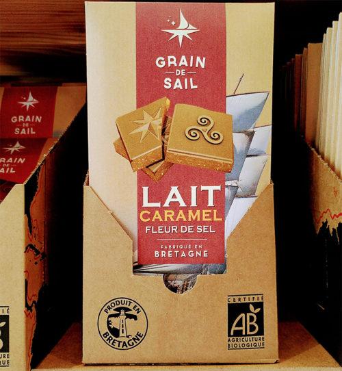Grain de Sail - Tablette Chocolat Lait Caramel